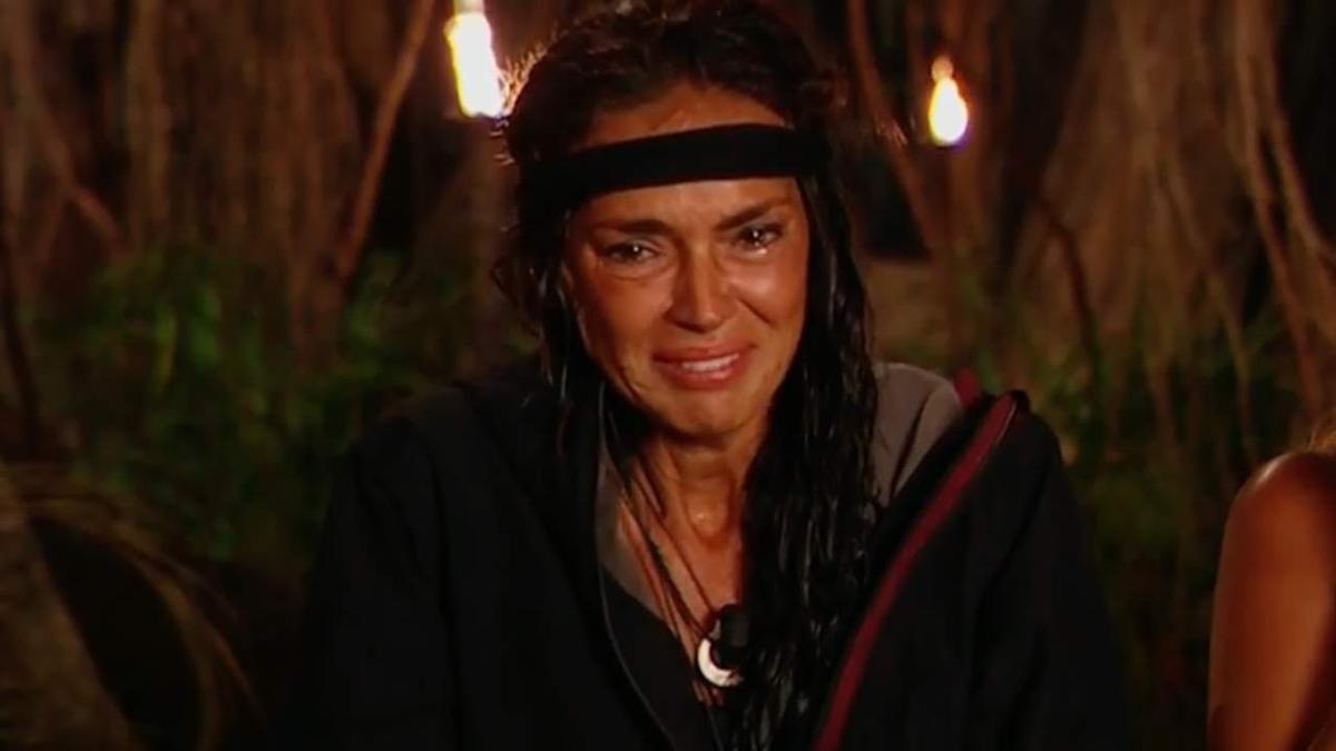 Olga Moreno, en  Supervivientes