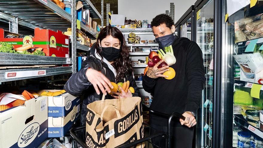Los «supermercados fantasma» llegan a Alicante