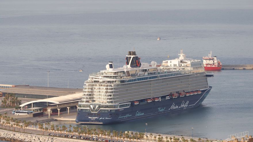 Málaga recibe hoy a su primer crucero tras las restricciones