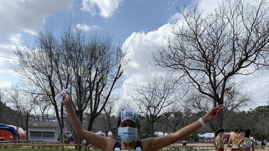 Mercedes Pila demuestra su poderío en los 50 kilómetros y es campeona de España
