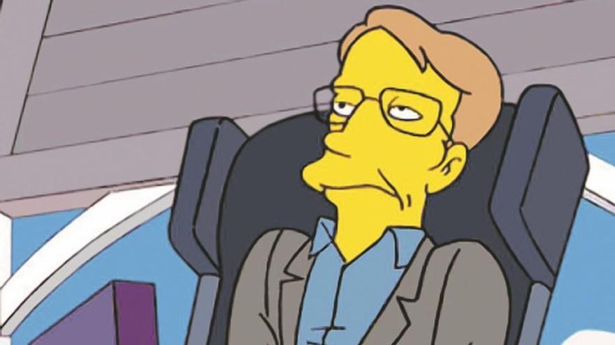 """Stephen Hawking, un personaje de """"Oscar"""" que trató con los Simpson"""