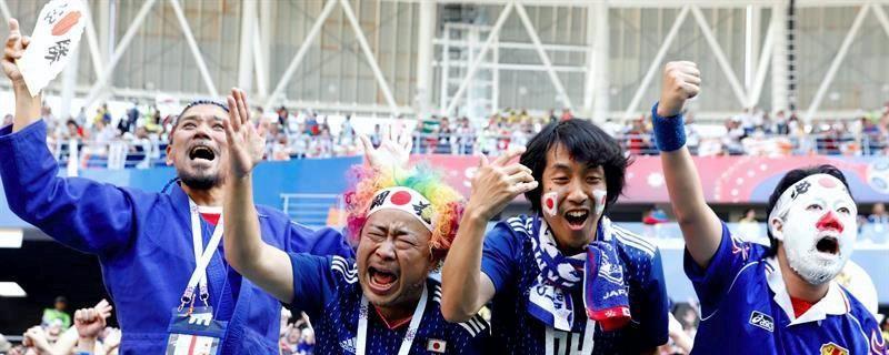 Las mejores imágenes del Colombia-Japón