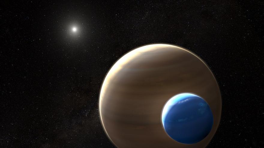 ¿Si hay una luna, hay un planeta habitable?