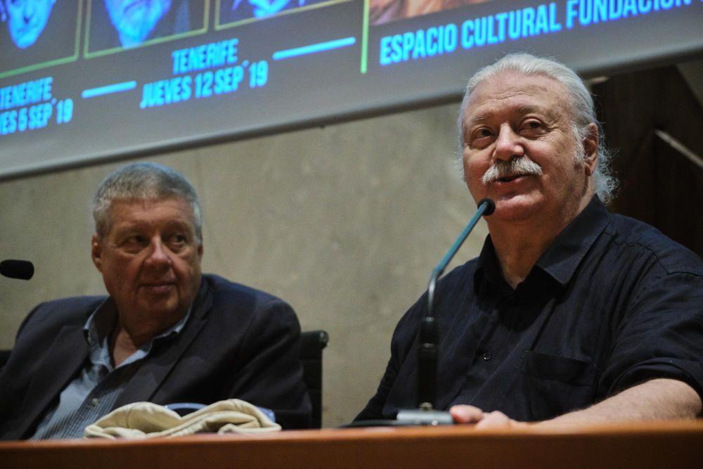 Marios Gas y Javier Gurruchaga en Tenerife
