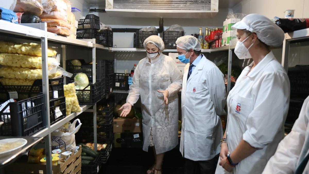 Inauguración de las nuevas instalaciones de la cocina de la Casa Familiar de San Francisco de Asís.