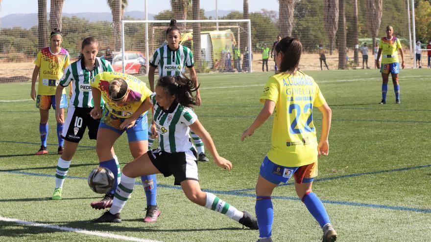 El Córdoba Femenino cae ante el Juan Grande