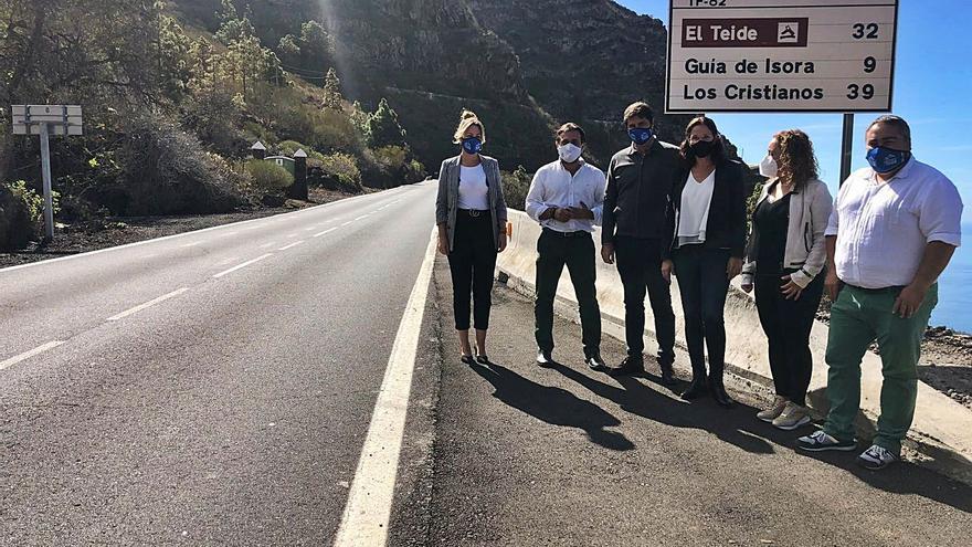 El Cabildo promete fondos para construir un túnel en La Vetita
