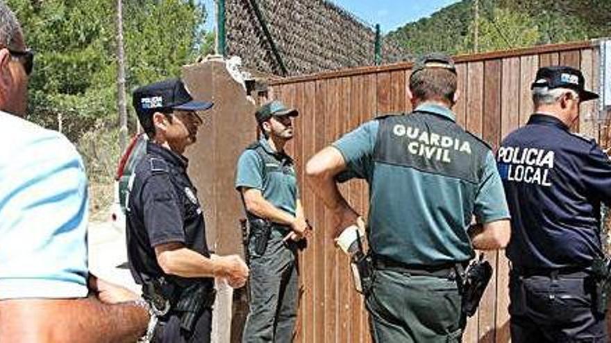 La Policía paraliza otra fiesta ilegal en Ibiza