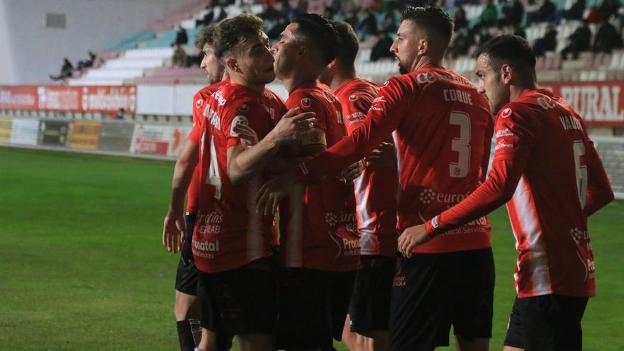 COPA DEL REY, EN DIRECTO | Zamora CF - SD Logroñés, minuto a minuto