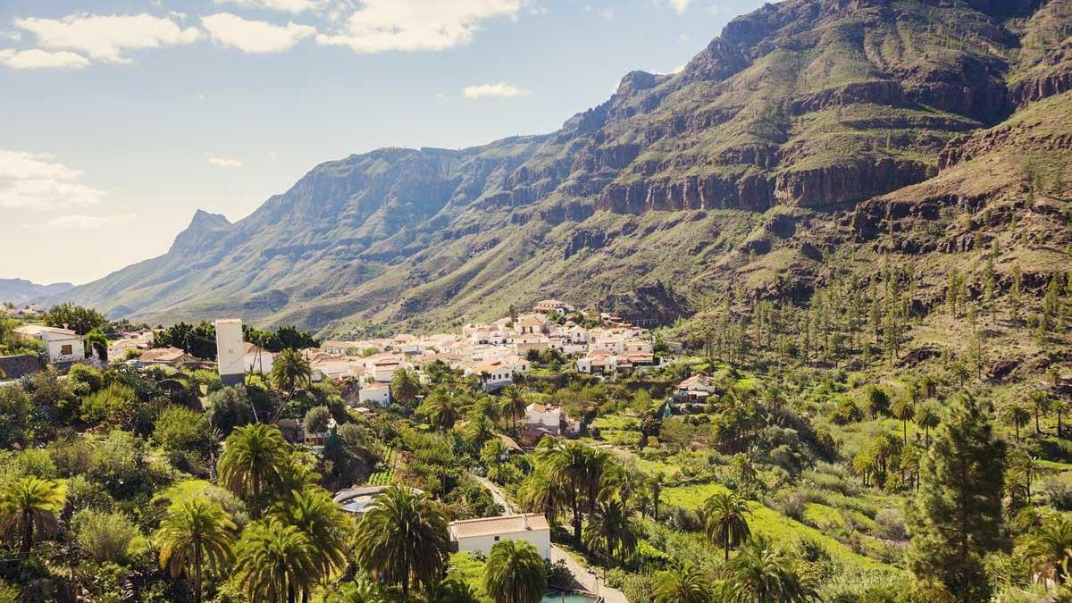 Entornos rurales en Canarias.