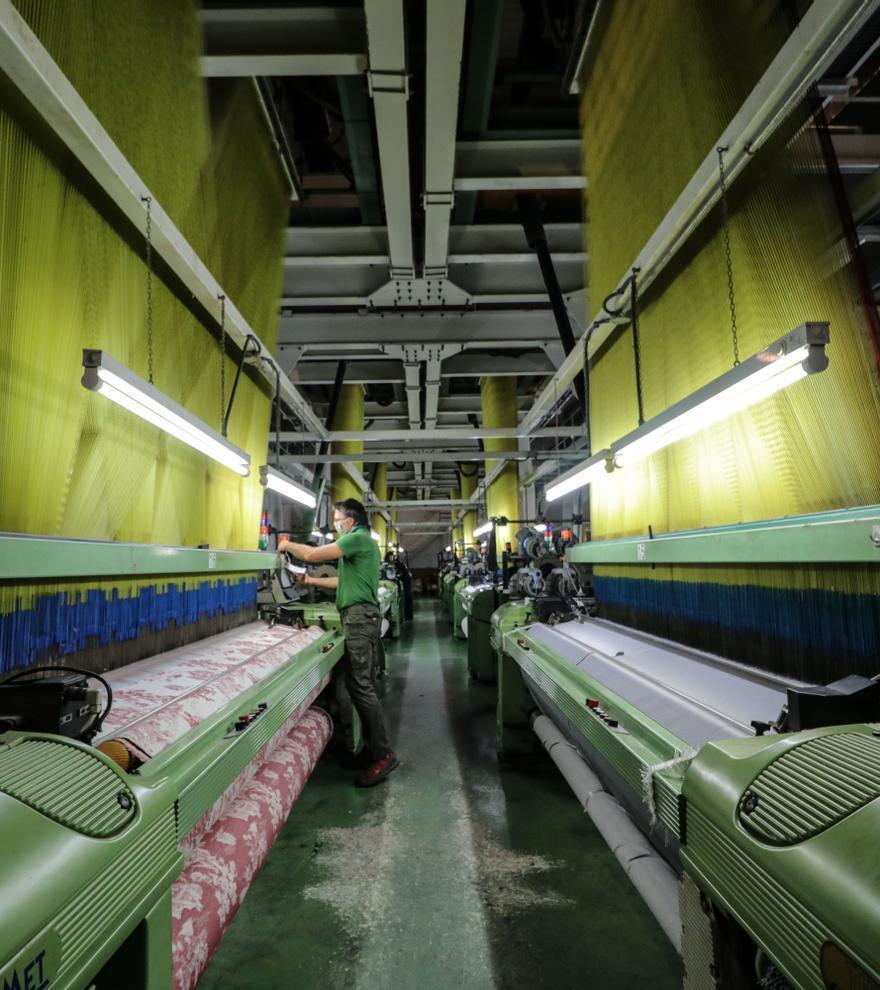 El sector industrial, el motor de la economía de la comarca de l'Alcoià