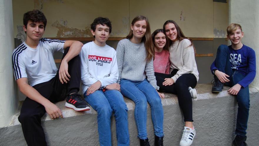L'institut Muntaner ha motivat sis alumnes a seguir la petjada de Lorca a Figueres