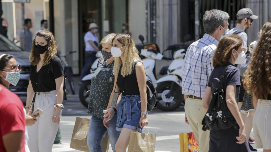 La C. Valenciana registra más contagios en los últimos siete días que en todo mayo y junio
