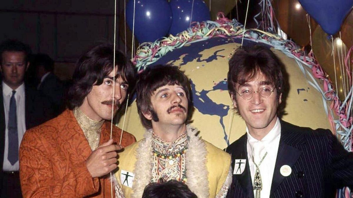 Una imagen de archivo de The Beatles.