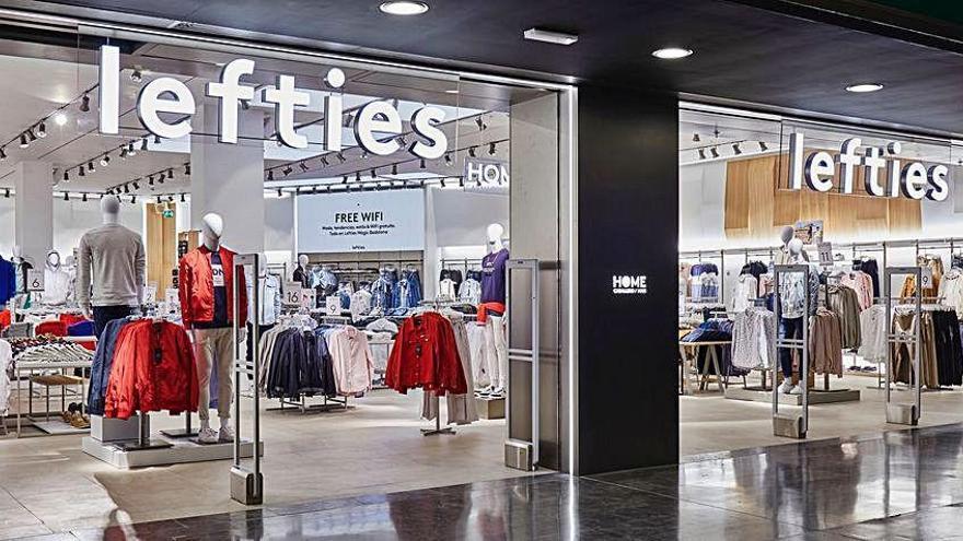 Inditex lanza la tienda 'online' de su marca Lefties en España