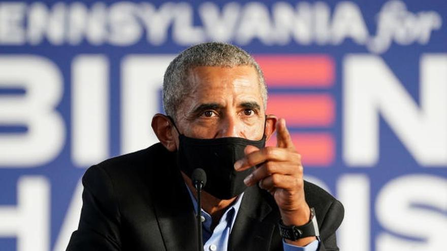 """Obama pide el voto para Biden: """"No podemos permitir otros cuatro años de esto"""""""