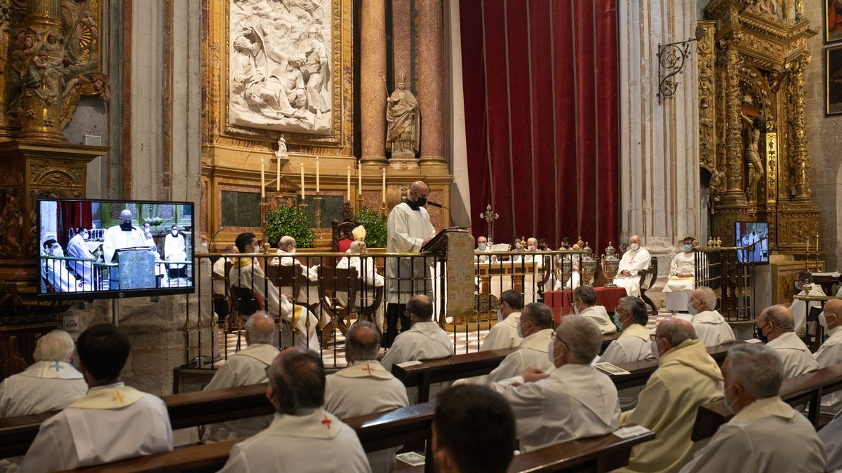 Misa Crismal en la Catedral de Zamora