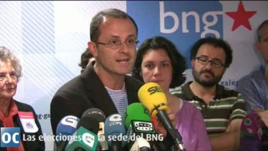 """Xosé Manuel Carril promete una """"oposición dura"""" del BNG"""