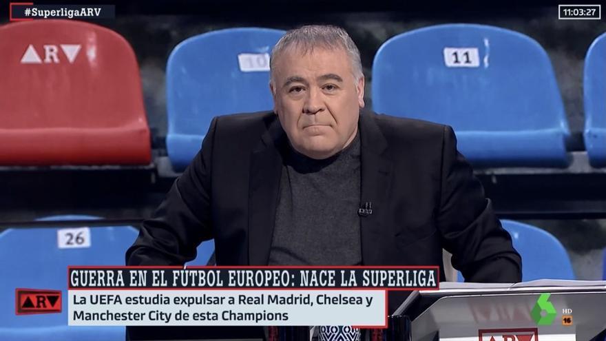 """Ferreras carga contra la UEFA y la FIFA por la Superliga: """"No pueden hablar de la pureza del futbol"""""""