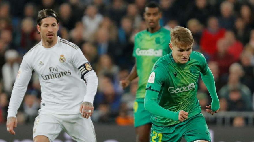 El Madrid muestra su voluntad de repescar a Odegaard