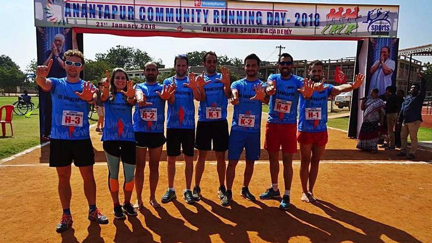 Jumilla 'corre' la Ultramaraton de Anantapur