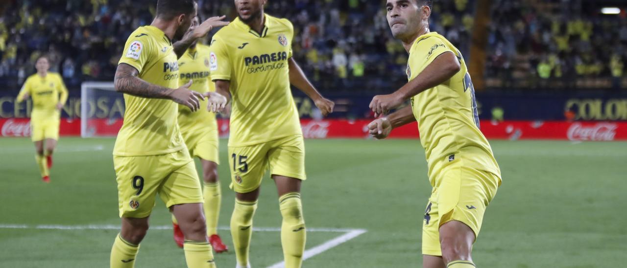 Manu Trigueros ha anotado el segundo tanto del Villarreal ante el Elche.