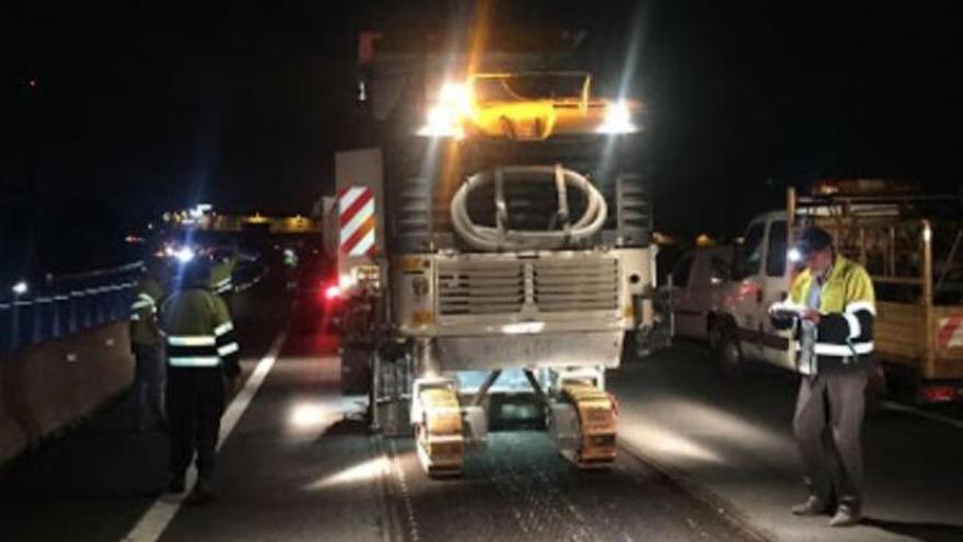 Tenerife destina 32 millones de euros a rehabilitar el firme de las dos autopistas