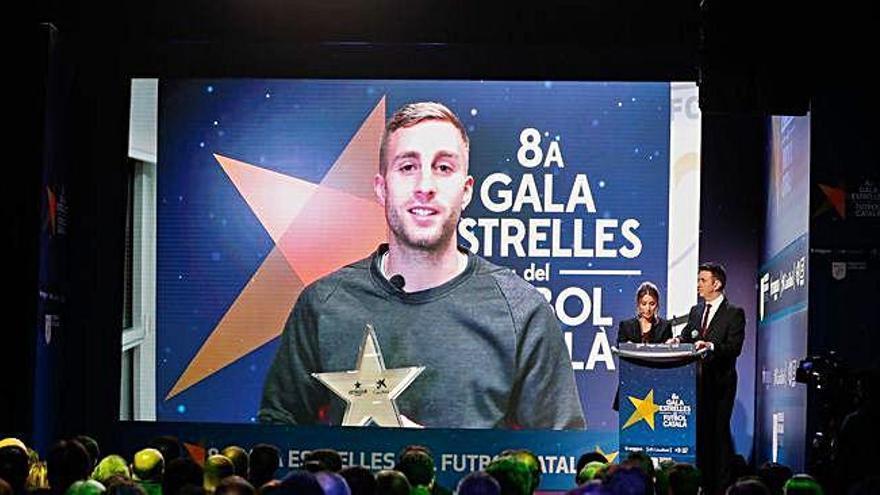 Deulofeu, premiat com a màxim golejador del futbol català