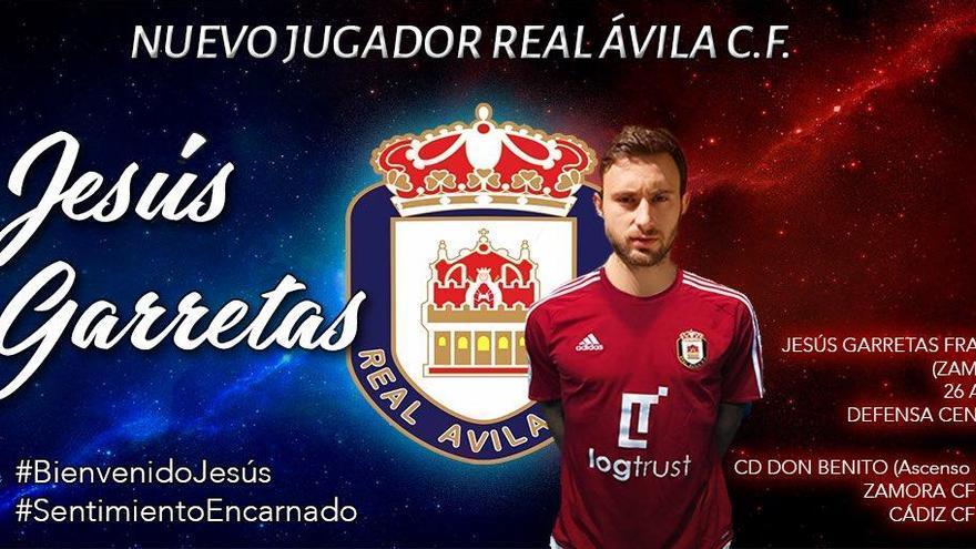 Jesús Garretas ficha por el Real Ávila