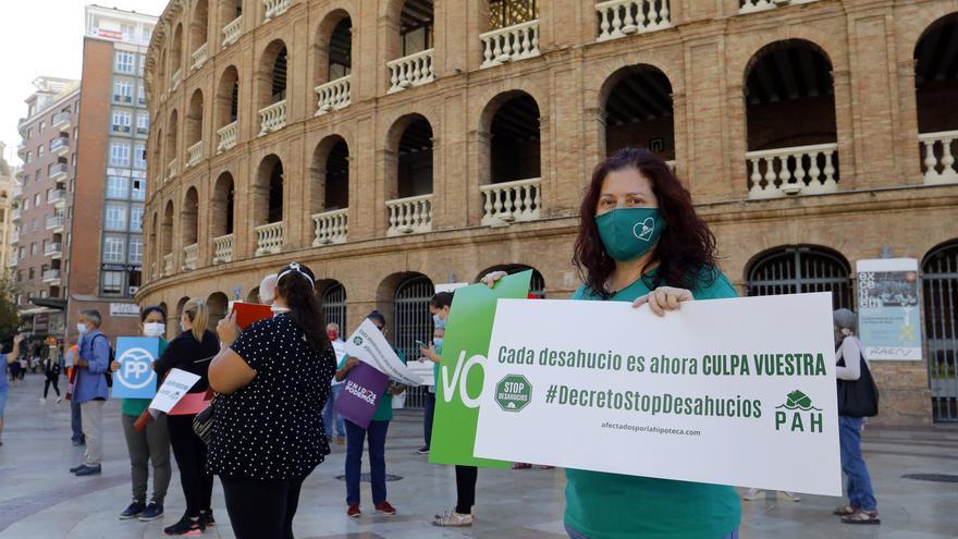 La PAH exige 15 meses sin desahucios a familias vulnerables