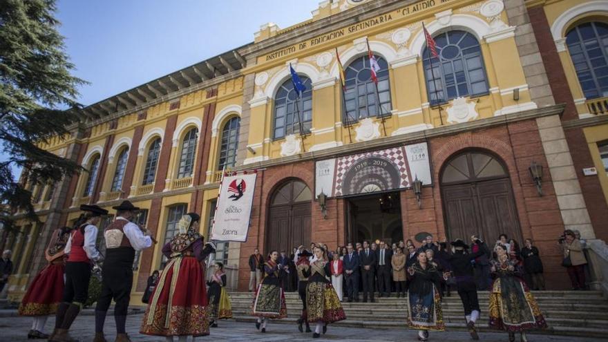 Rey confía en que el Claudio Moyano sea edificio histórico