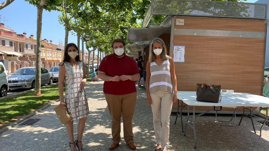 Espido Freire e Isabel San Sebastián hablan de sus libros en la feria de Onda