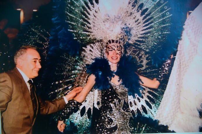Inauguración de la exposición en homenaje a Carmen Hernández, diseñadora de trajes de Carnaval desde finales de los setenta    26/02/2020   Fotógrafo: Tony Hernández