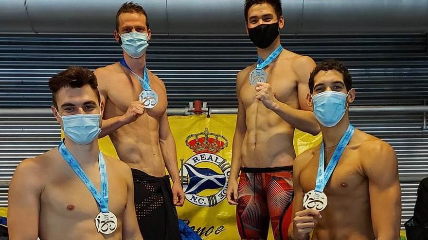 La natación balear suma 30 medallas en el Nacional de invierno de Castellón