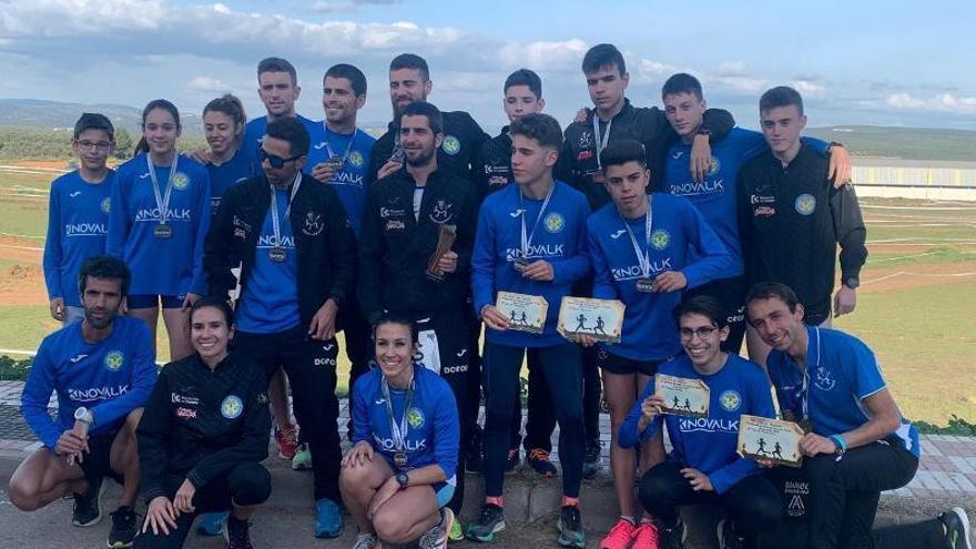 El Surco Lucena logra los dos títulos andaluces absolutos por clubs