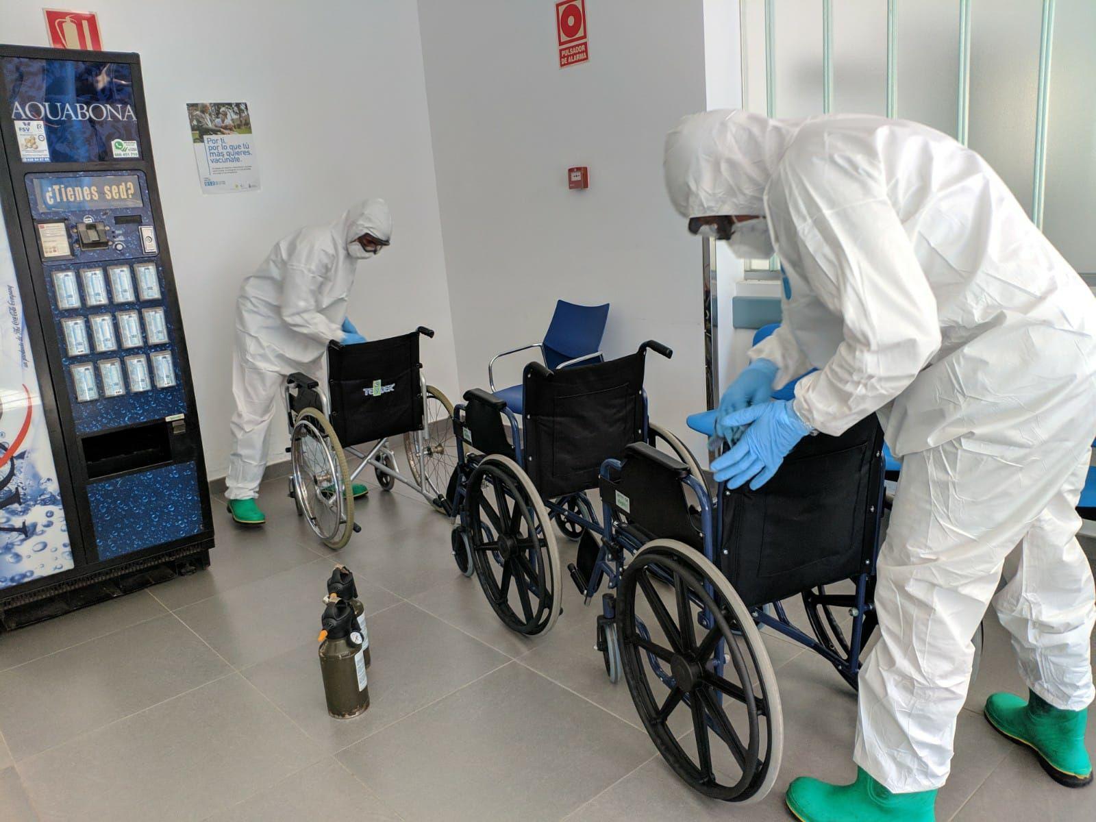 Rastreadores militares de Canarias, cuatro meses de lucha contra la pandemia