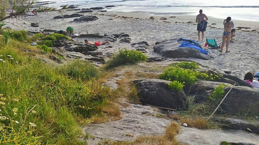La erosión de la playa de As Canas llega al Congreso