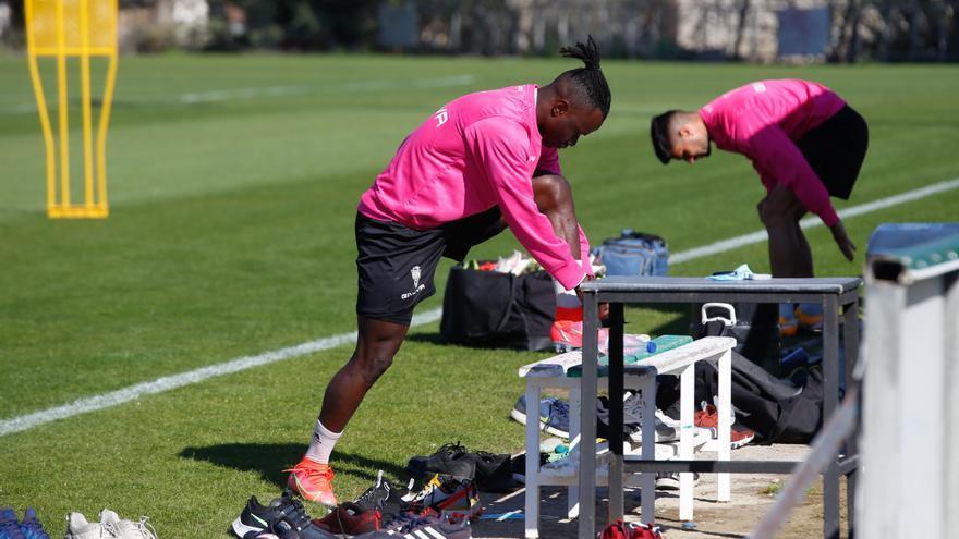 Sidibé y Carlos Puga aceleran para estar disponibles para el Córdoba CF el domingo