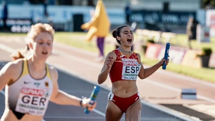 La oriolana Carmen Marco, plata en el Europeo sub'23