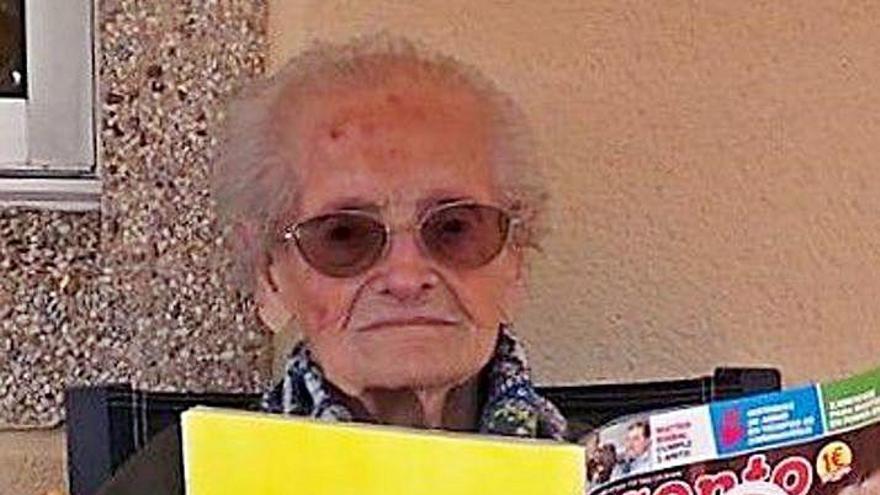 Estrella de revista a los 106 años