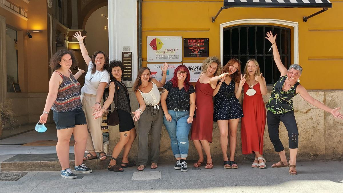 Equality Momentum se encuentra en el Palacio de Rojas sito en la Calle Quart 10.