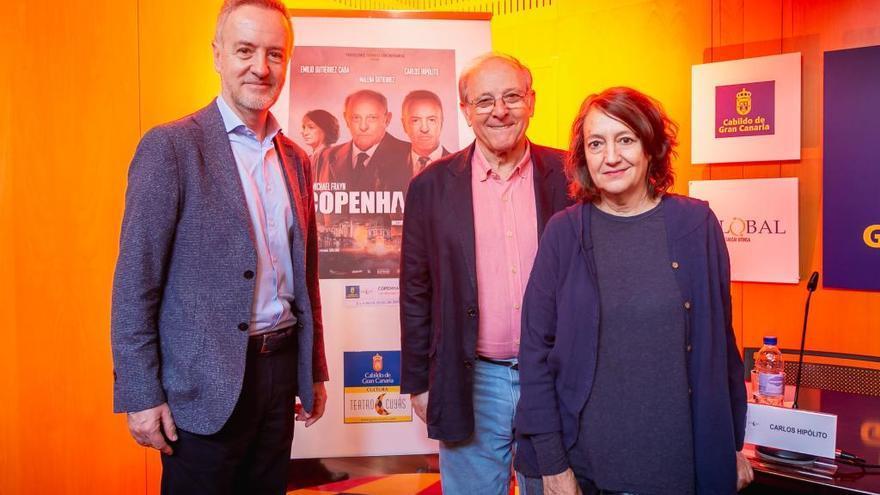 Carlos Hipólito y Emilio Gutiérrez Caba protagonizan 'Copenhague' en el Cuyás