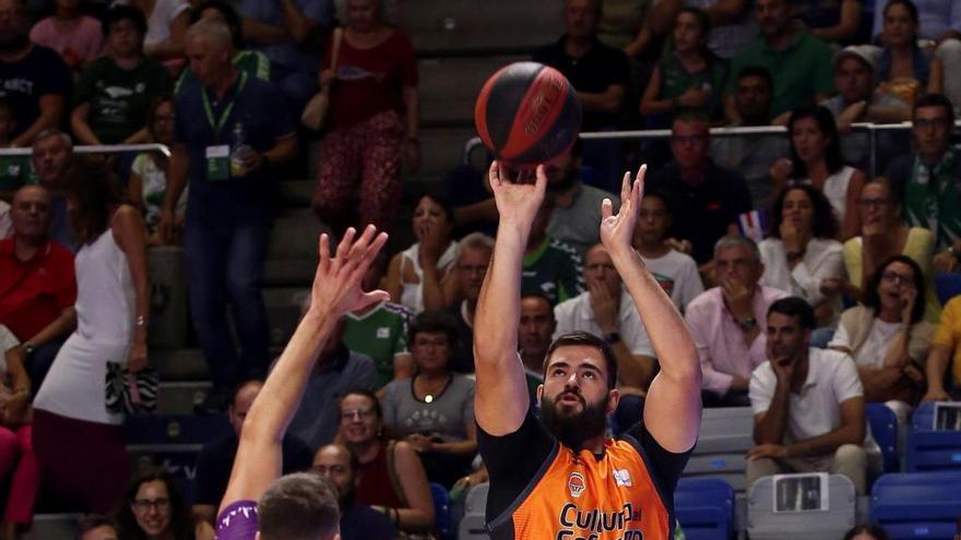 El Valencia Basket arranca en falso la liga
