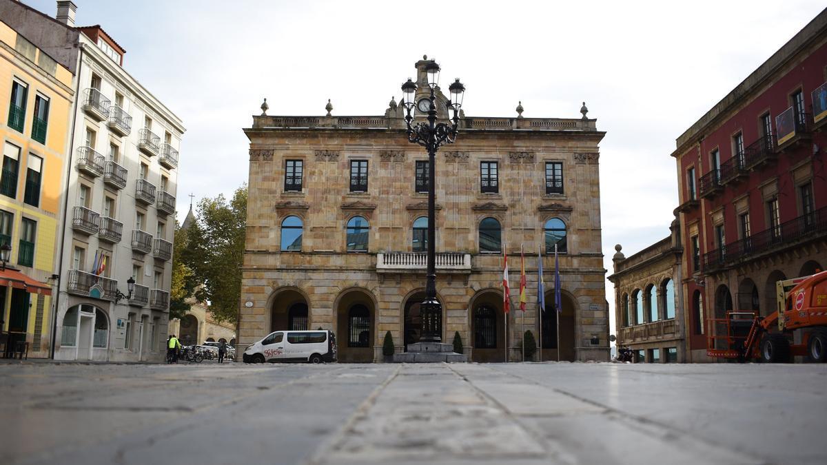Plaza Mayor de Gijón.