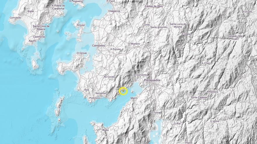 Poio registra un terremoto