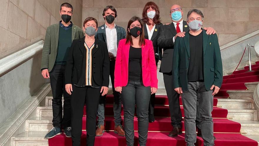 Ferran Roquer (Junts) pren possessió com a diputat del Parlament