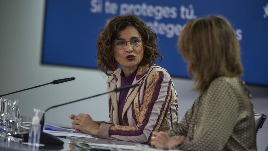 """Montero: """"El Gobierno estaría encantado de vacunarse si eso contribuye a una mayor seguridad para la población"""""""