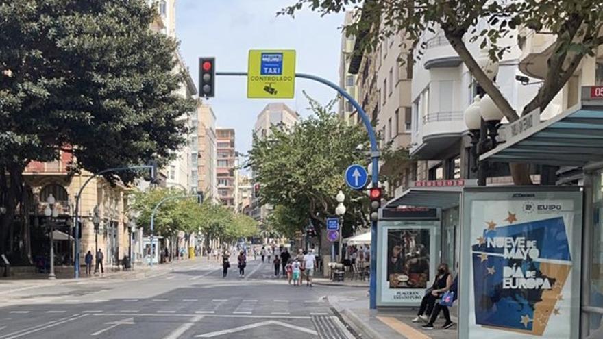 La peatonalización de los domingos y festivos en la Cantera y el centro de Alicante, solo por la tarde en verano