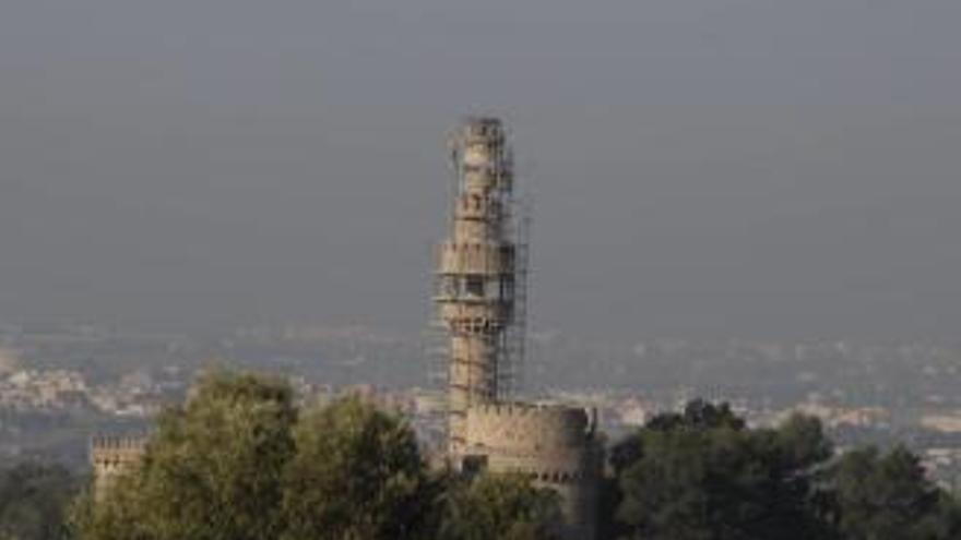 Der Gespensterturm von Pòrtol wird abgerissen