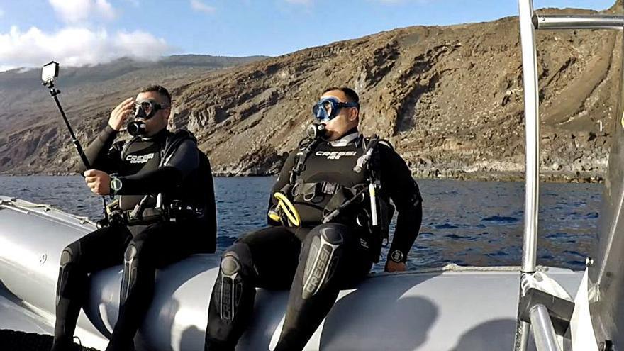 'Conciencia Canaria' se sumerge este lunes en la investigación oceanográfica
